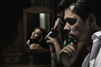 A woman Testing a Man